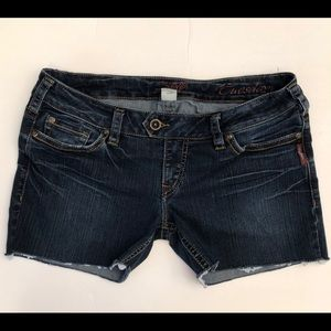 Silver Jean shorts-cutoffs. Tuesday jeans